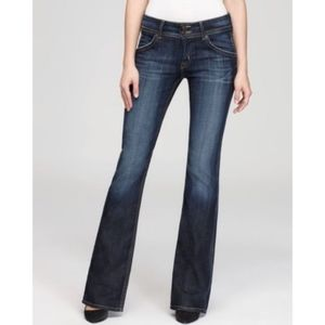 Hudson Signature Bootcut Mid-Rise Jeans Size 28